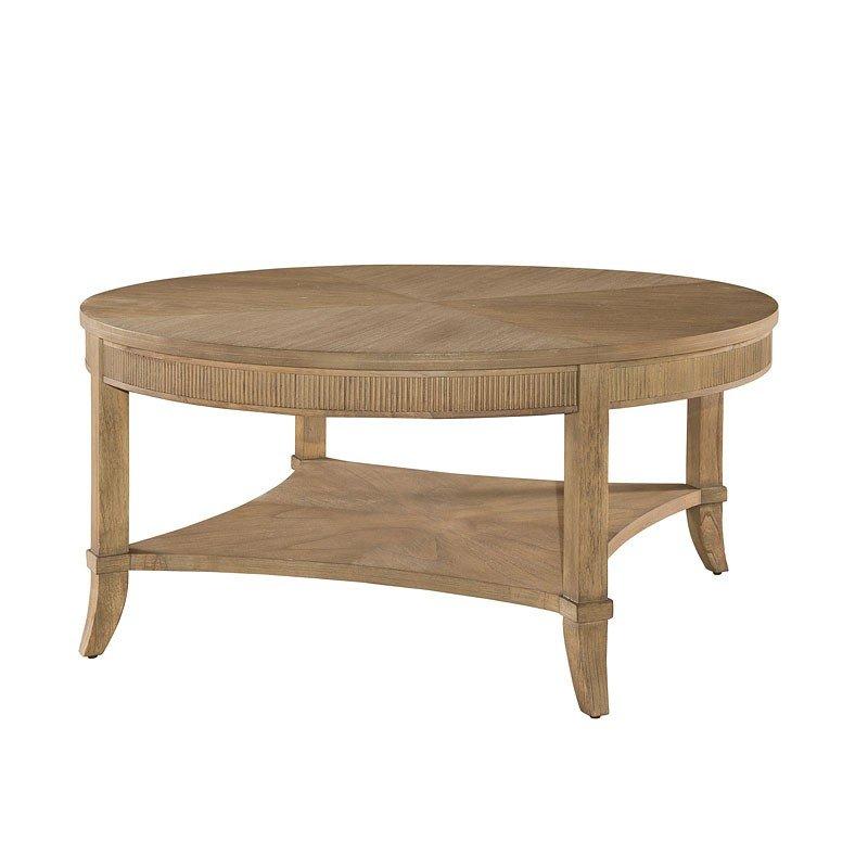 Urban Retreat Round Coffee Table (Khaki)