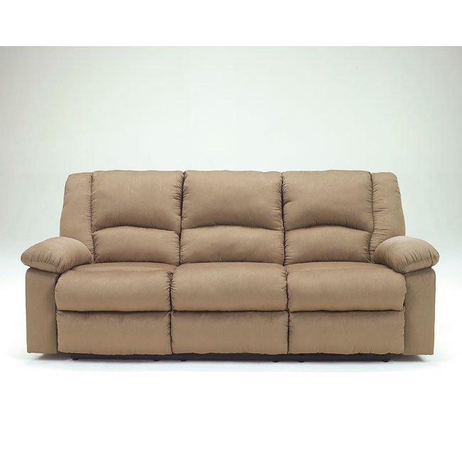 Patrickson Mocha Reclining Sofa