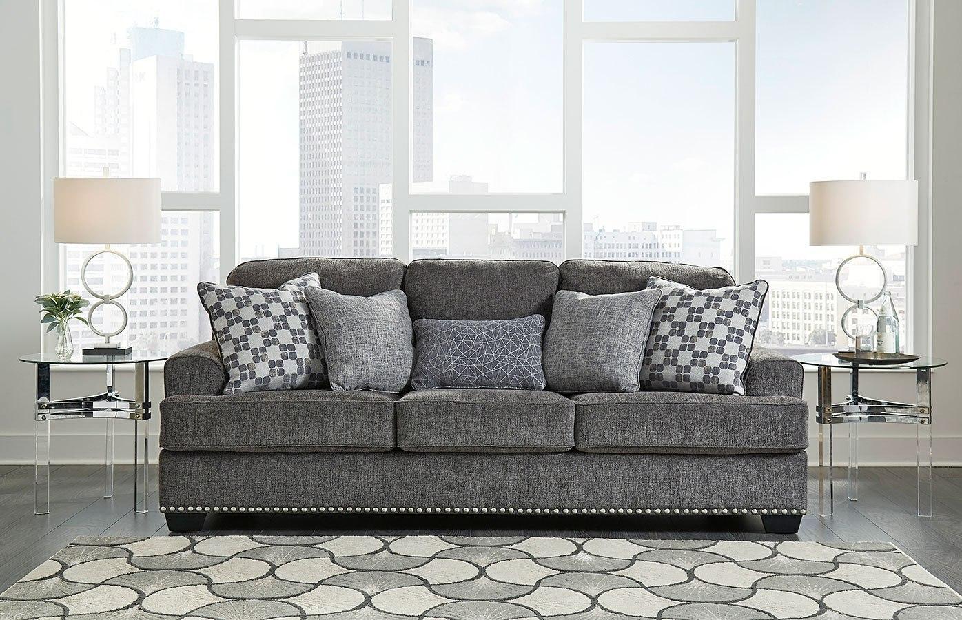 Locklin Carbon Sofa Benchcraft Furniture Cart