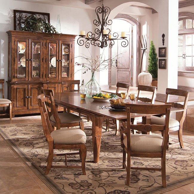 Tuscano Refectory Dining Room Set Kincaid Furniture, 2