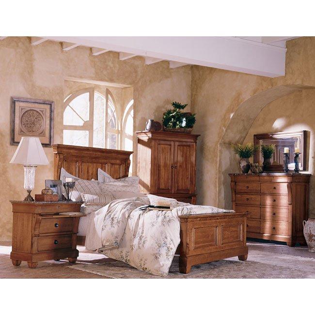 Tuscano Panel Bedroom Set Kincaid Furniture   Furniture Cart