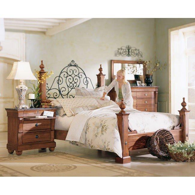 Tuscano Poster Bedroom Set Kincaid Furniture | Furniture Cart