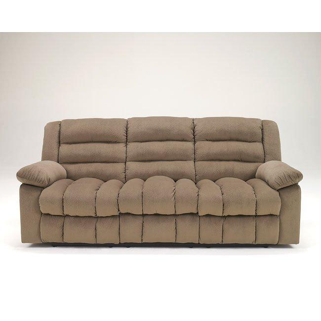 Ekron Cocoa Reclining Sofa