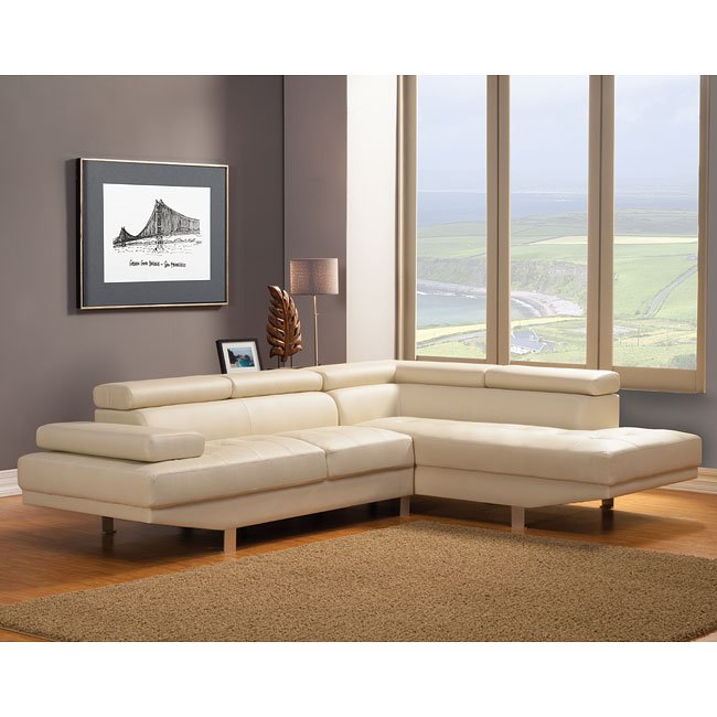 Warren Right Chaise Sectional