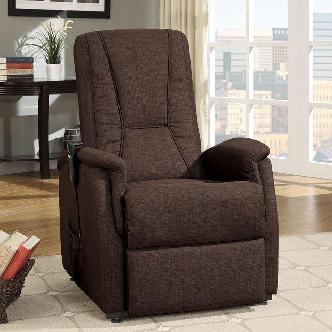 Glenson Power Lift Chair (Brown)