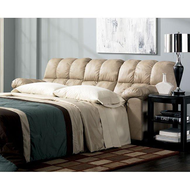 Max - Chamois Full Sofa Sleeper