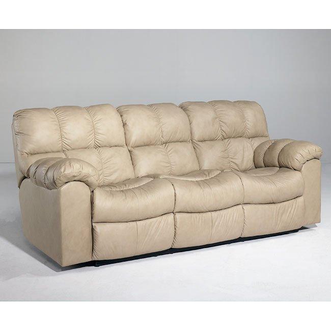 Max - Chamois Reclining Sofa