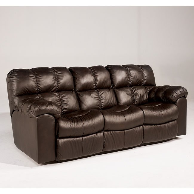 Max - Chocolate Reclining Sofa