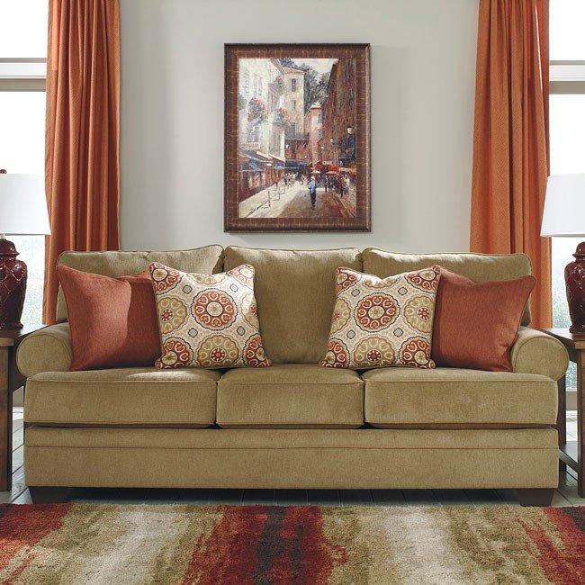 Living Room Made Of Sand: Sevan Sand Living Room Set Signature Design