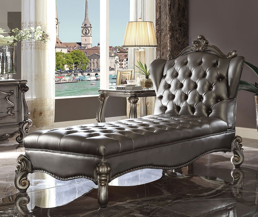 Versailles Living Room Set Antique Platinum Acme