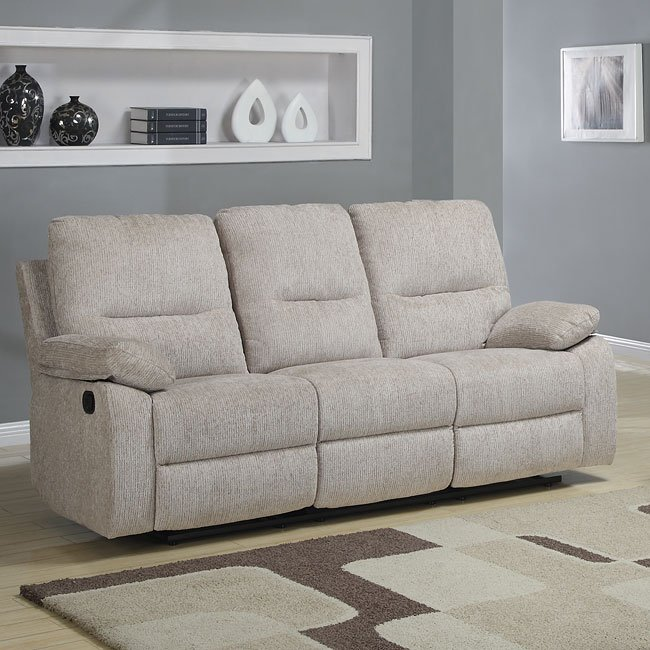 Marianna Double Reclining Sofa W Drop Down Table