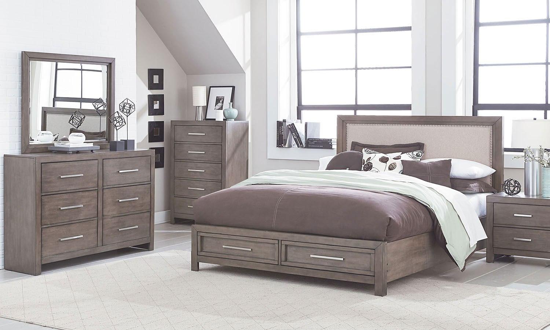 cachet storage bedroom set standard furniture furniture cart. Black Bedroom Furniture Sets. Home Design Ideas