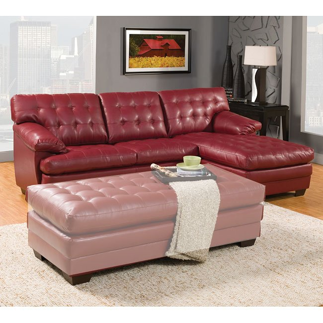 Brooks Sectional (Red)