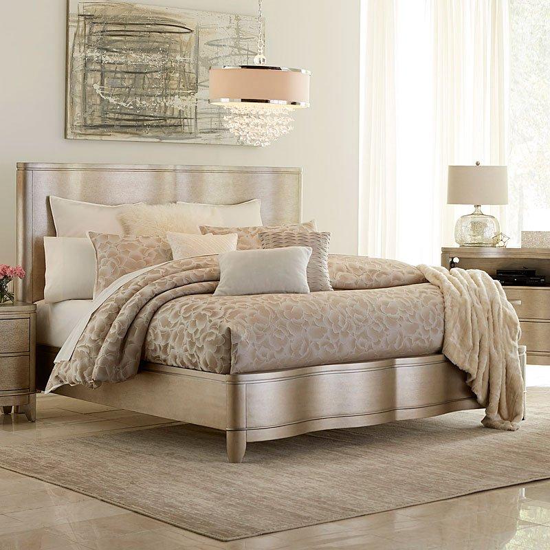 Serenade Glamour Panel Bed Klaussner 1 Reviews Furniture Cart