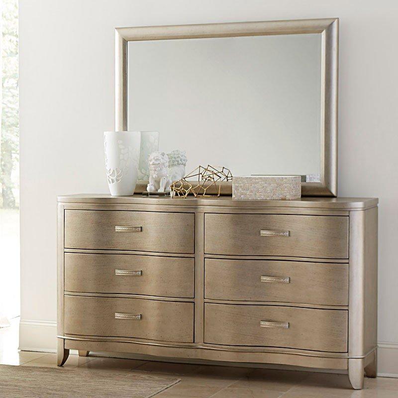 Serenade Glamour Dresser Klaussner Furniture Cart