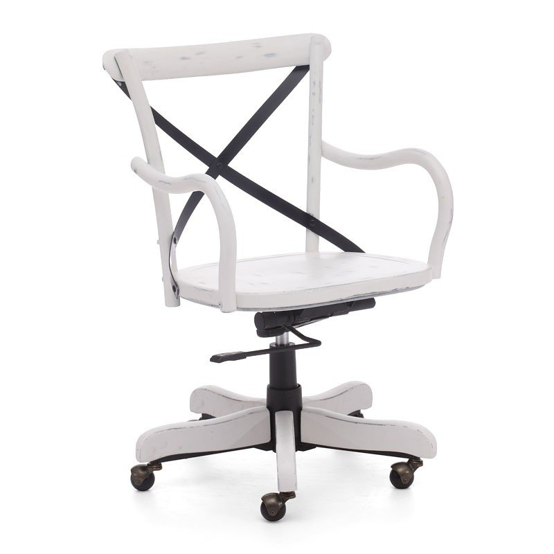 22e8ddbb1aa Union Square Office Chair (Antique White) Zuo Modern