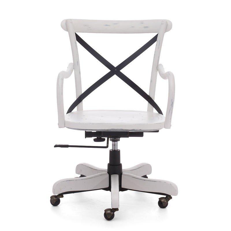 Union Square Office Chair (Antique White) - Union Square Office Chair (Antique White) Zuo Modern Furniture Cart