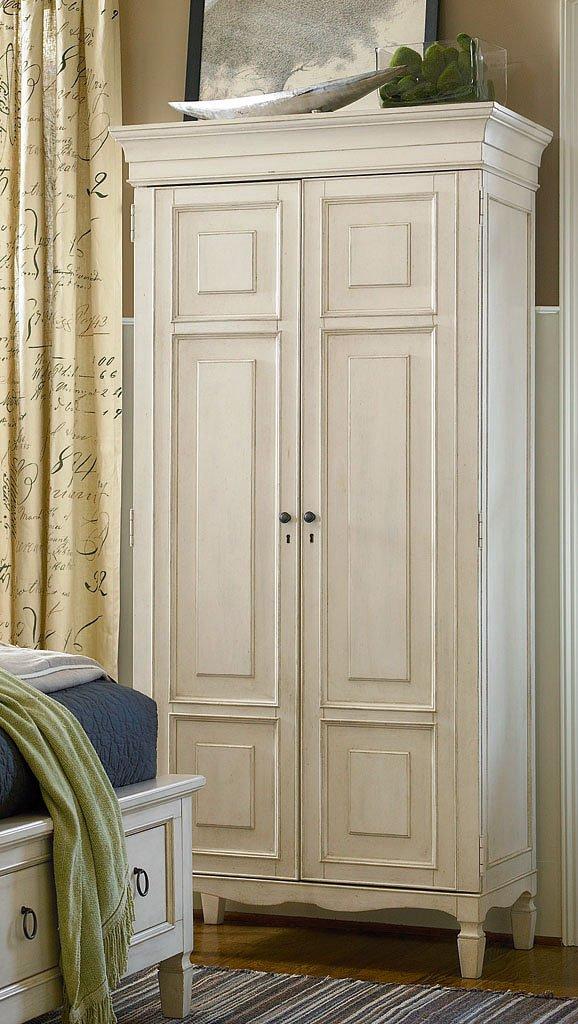 Summer Hill Tall Cabinet Cotton Universal Furniture