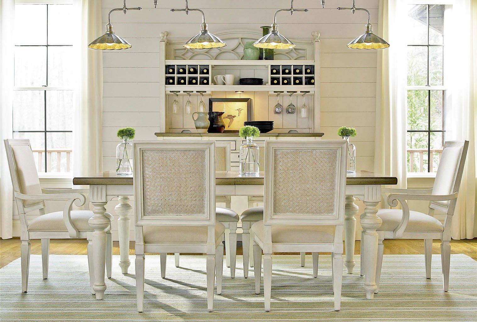 Summer Hill Rectangular Dining Room Set Cotton Universal