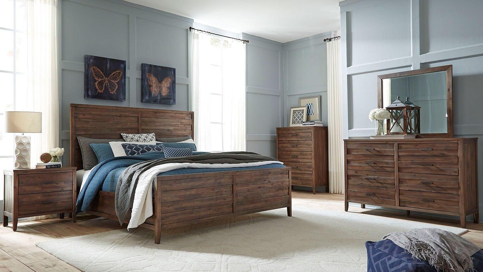 cresswell panel bedroom set standard furniture furniture cart. Black Bedroom Furniture Sets. Home Design Ideas