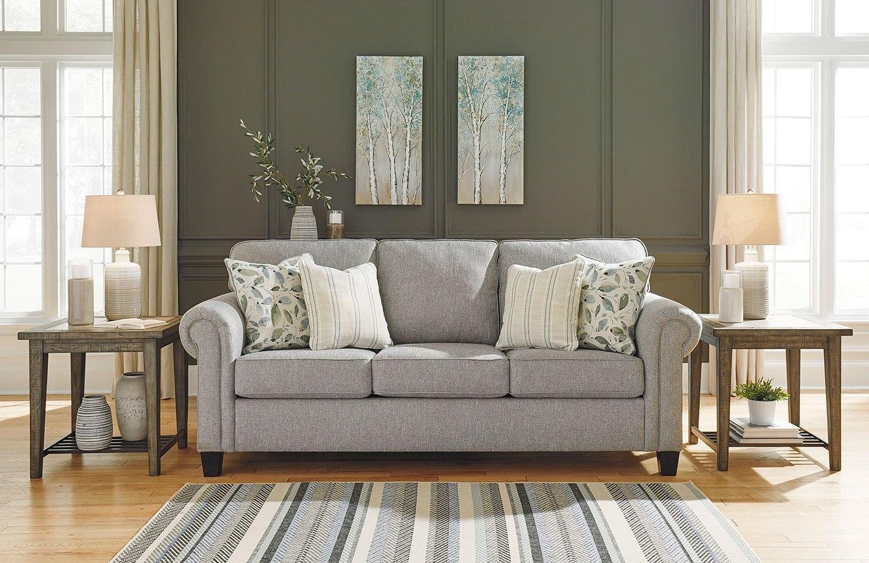 Alandari Gray Living Room Set