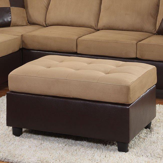 Comfort Living Ottoman (Brown)