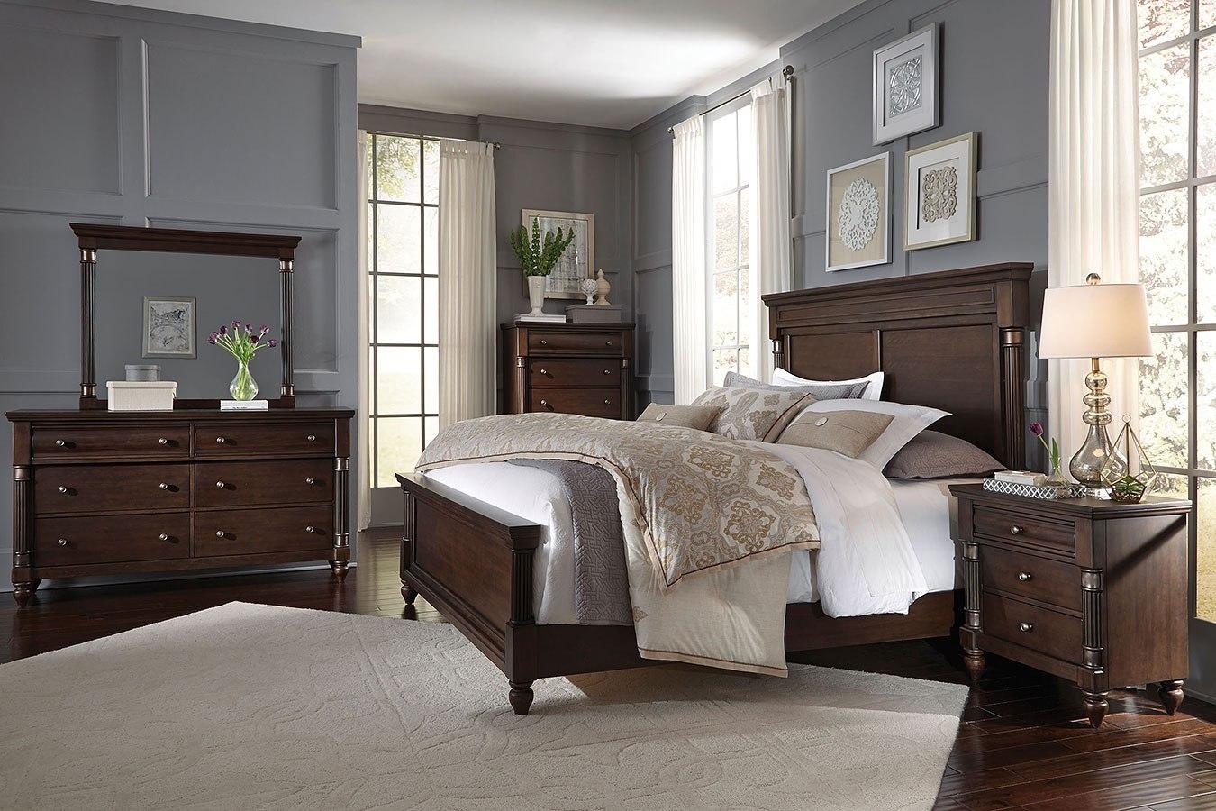 oxford panel bedroom set standard furniture furniture cart. Black Bedroom Furniture Sets. Home Design Ideas