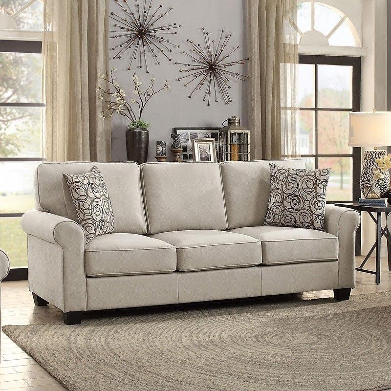 Living Room Made Of Sand: Selkirk Living Room Set (Sand) Homelegance