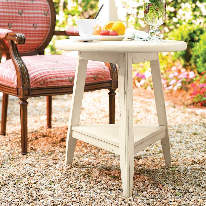 Paula Deen Home Round Lamp Table Linen Paula Deen Home Furniture