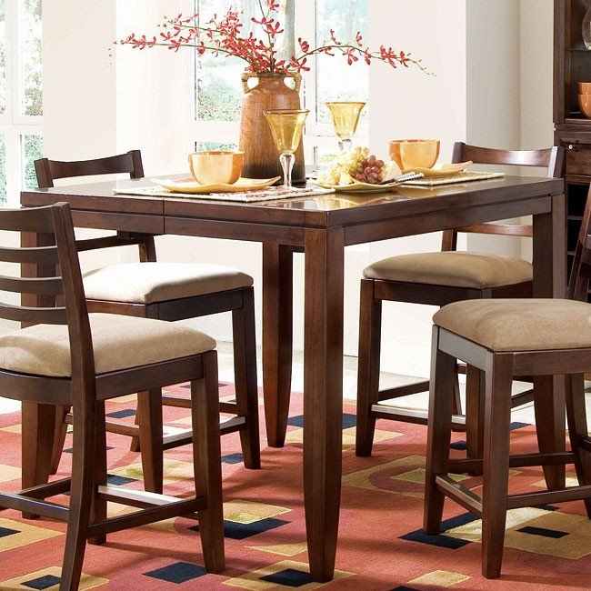 Terrific Tribecca Counter Height Dining Table Alphanode Cool Chair Designs And Ideas Alphanodeonline