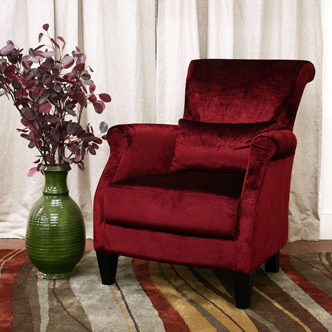 Conti Arm Chair (Red)