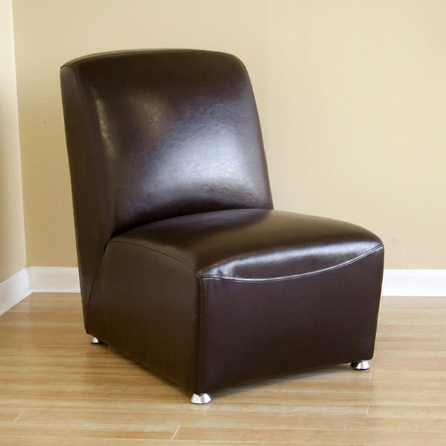 Feste Leather Club Chair (Brown)