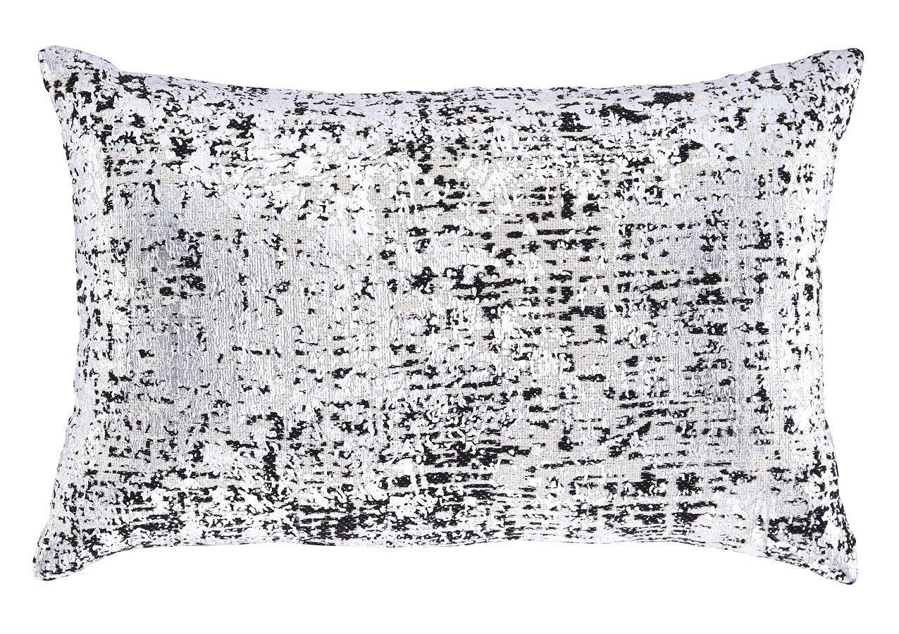 Linda Pillow (Black/Silver) (Set of 4)