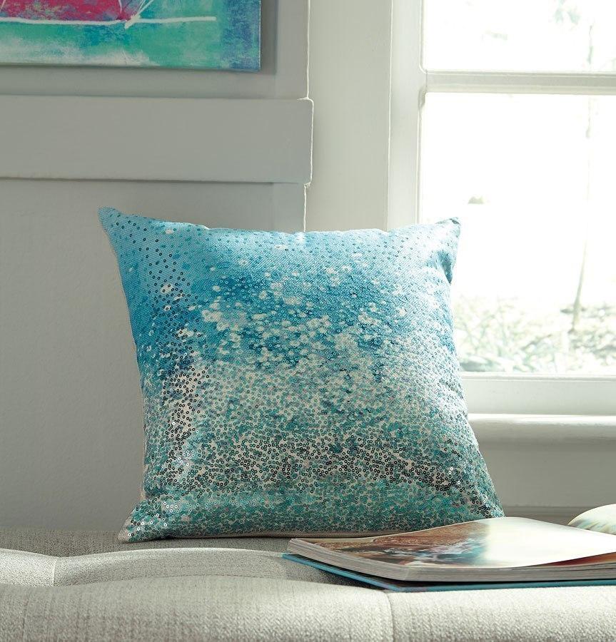 Meilani Blue Pillow (Set of 4)