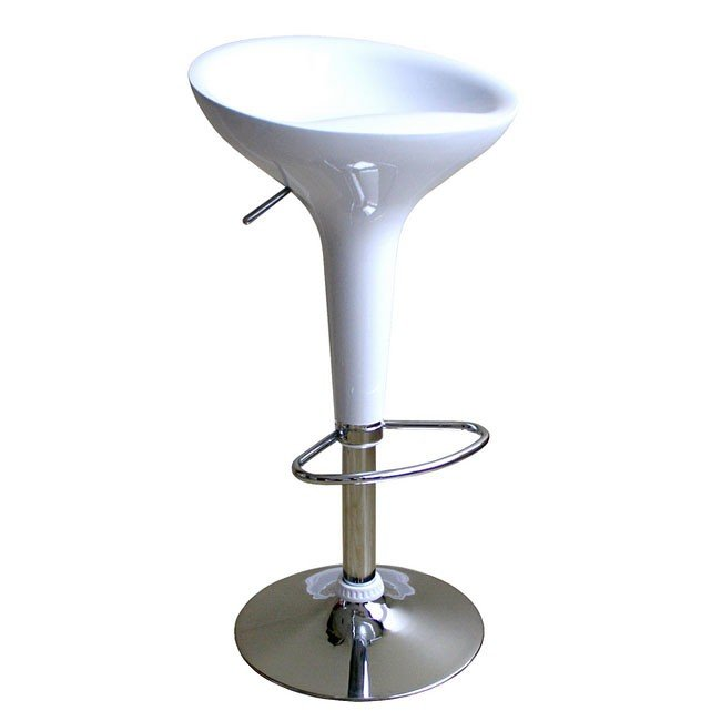 Ro Bar Stool (White) (Set of 2)