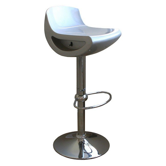 Delta Bar Stool (Silver) (Set of 2)