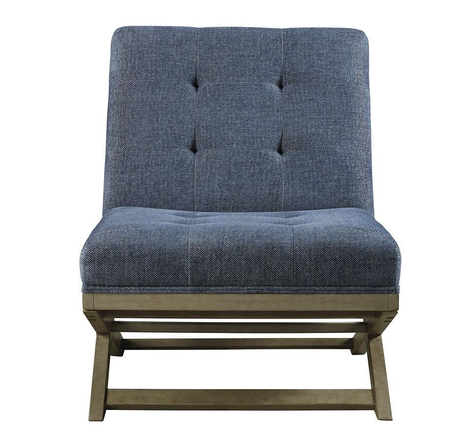Sidewinder Accent Chair Blue Signature Design