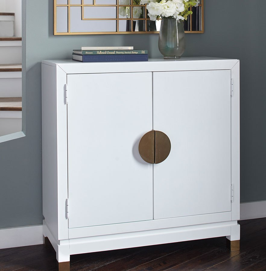 Walentin Accent Cabinet By Ashley Furniture: Walentin White Accent Cabinet Signature Design