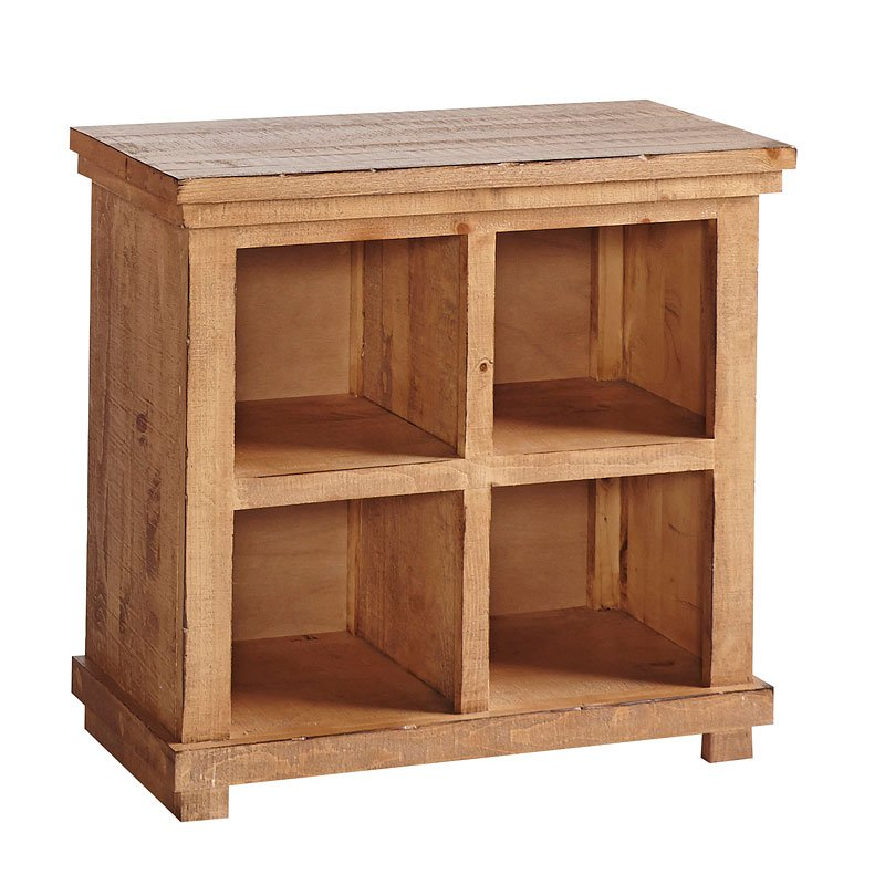 Willow 32 Inch Height Bookcase (Distressed Pine) Progressive