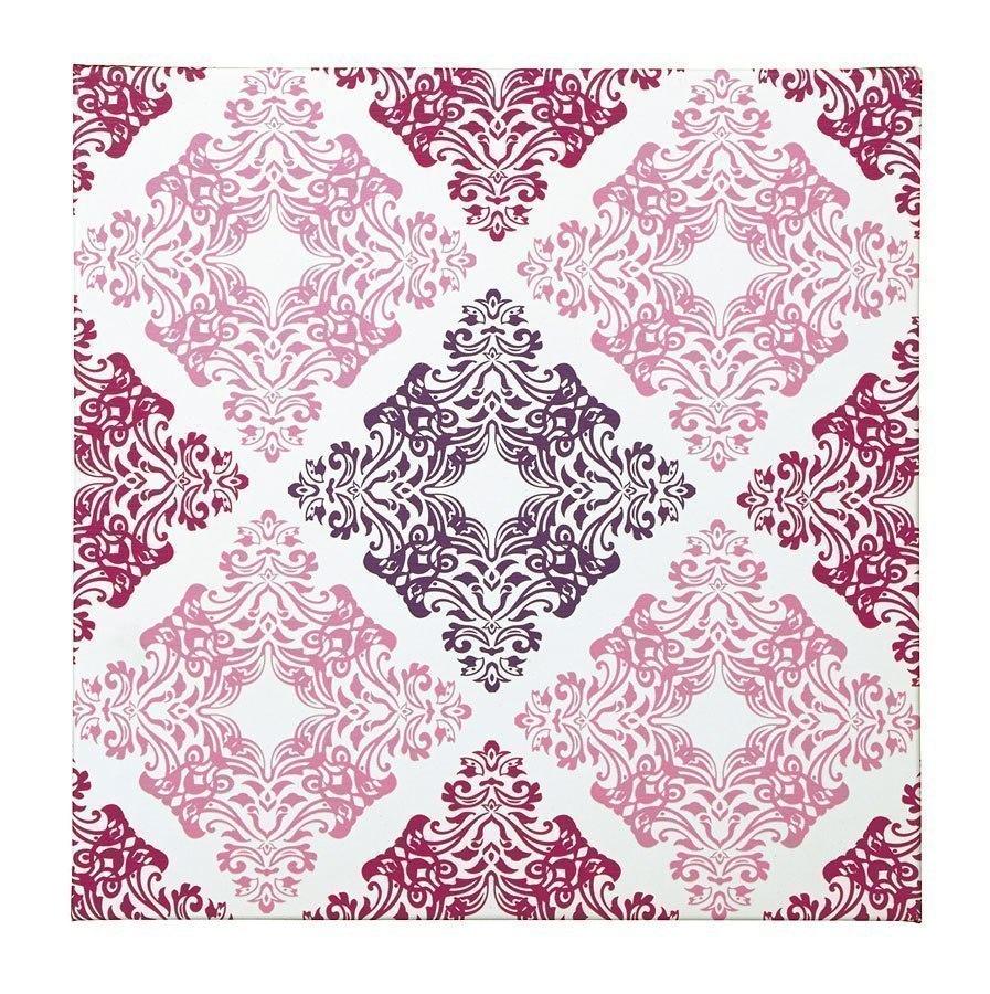 Jadine Wall Art (White/Pink)