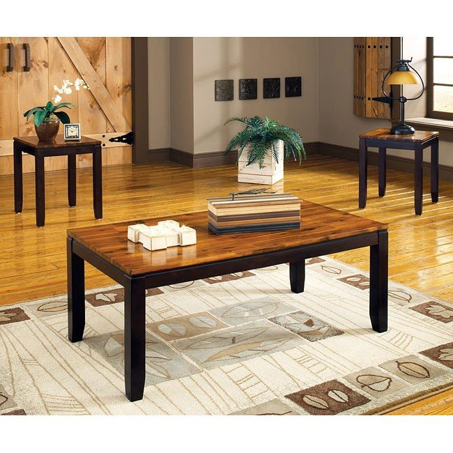 Abaco 3 Piece Occasional Table Set Steve Silver Furniture