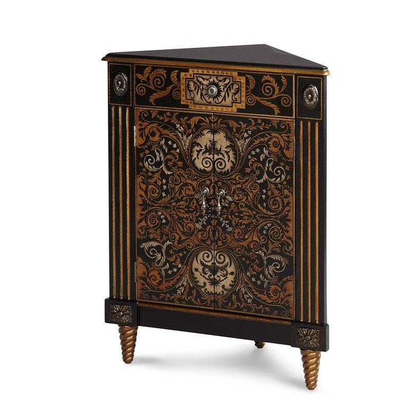 Discoveries Hand-Painted Storage Chest