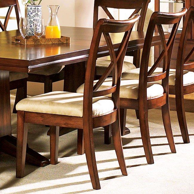 Alyssa Side Chair Set Of 2 Steve Silver Furniture Furniture Cart