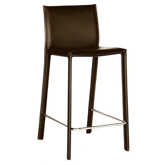 Ferdinand Counter Height Stool (Brown) (Set of 2)