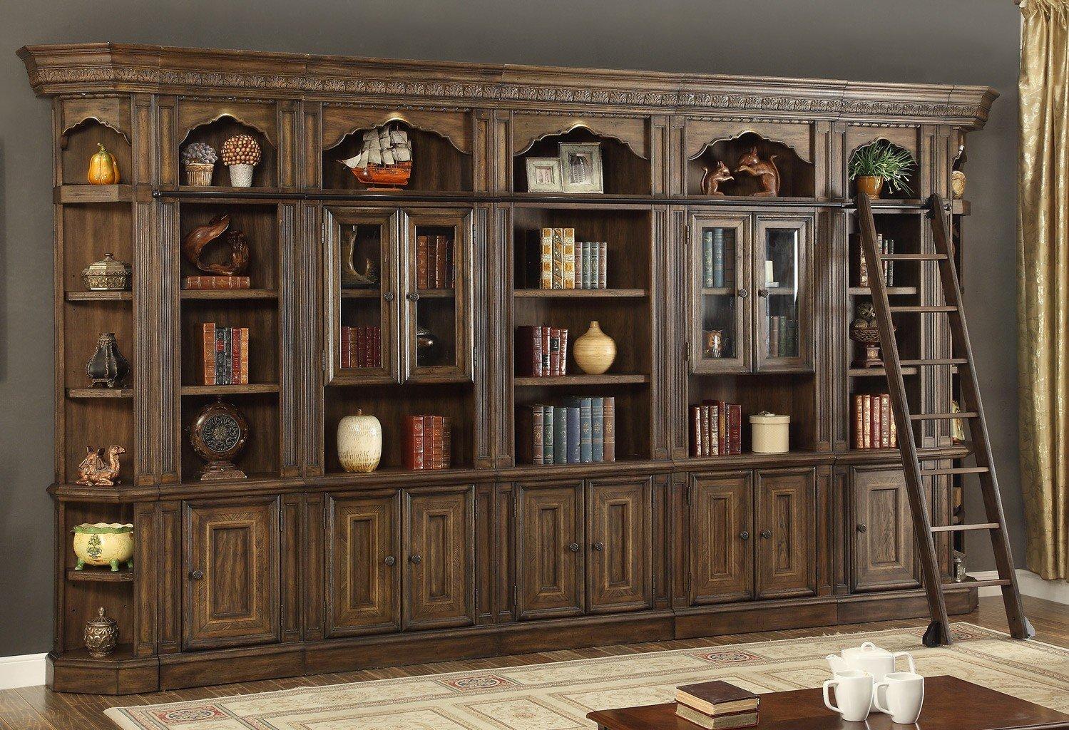 Aria Modular Bookcase Wall
