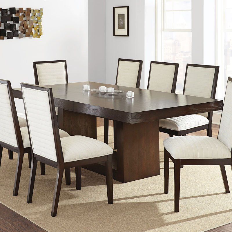 Dining Room Tables San Antonio: Antonio Dining Room Set W/ Emma Gray Chairs Steve Silver