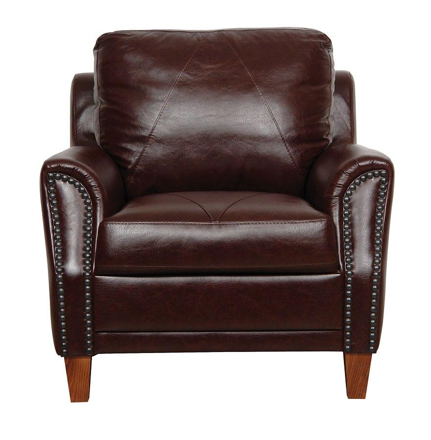 Charmant Austin Italian Leather Chair