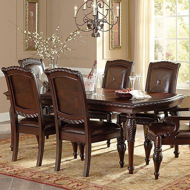 Antoinette Dining Room Set W Leg Table Steve Silver