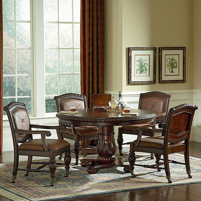 Antoinette Round Dining Room Set Steve Silver Furniture