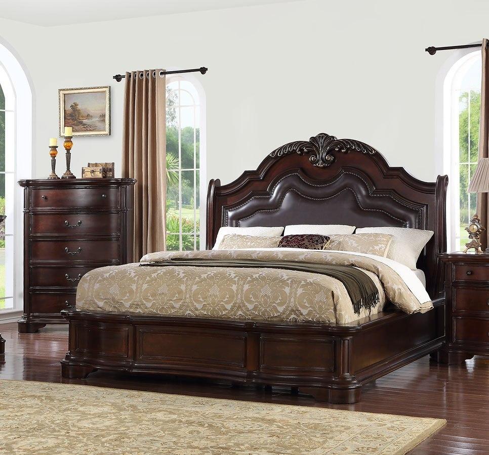 St Louis Upholstered Bed Avalon Furniture | Furniture Cart
